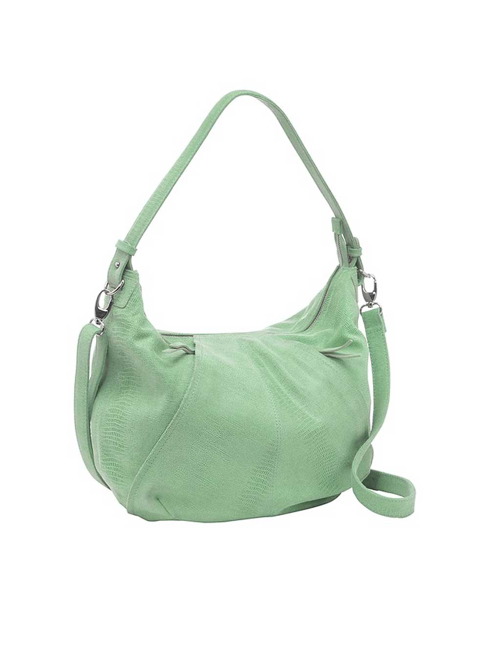 Betty Barclay Leder-Handtasche jade
