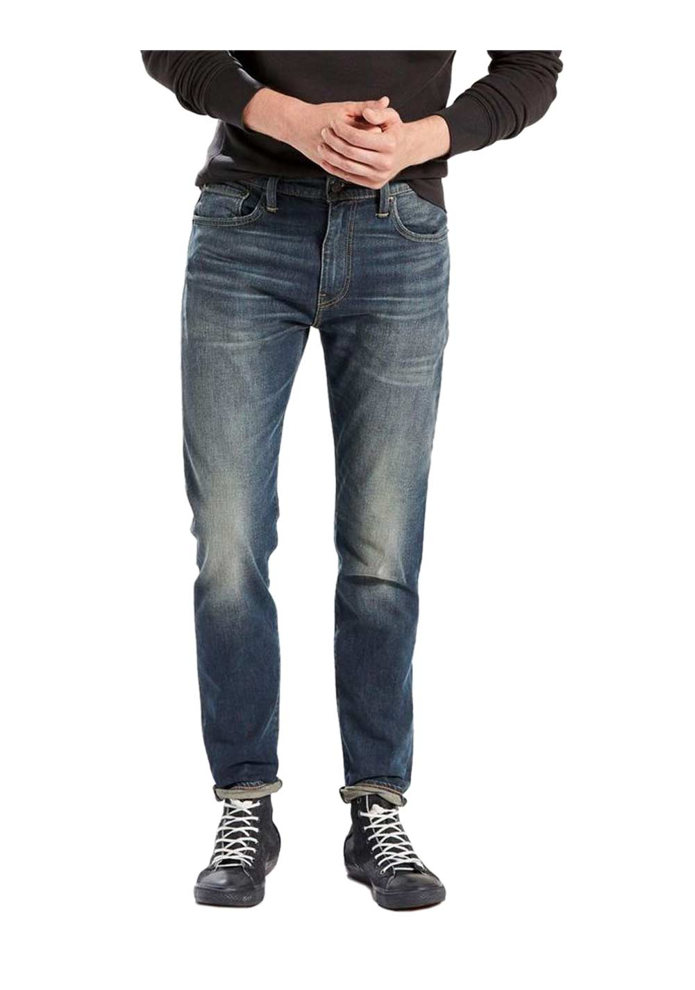 LEVI´S Jeans dunkelblau-used 34 inch