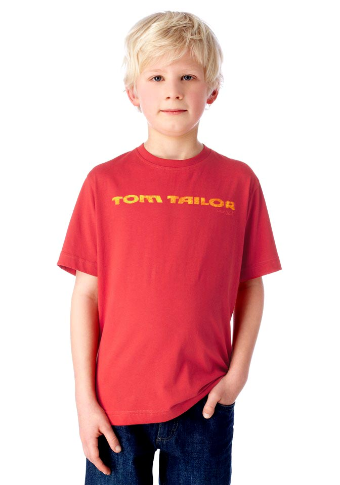 Tom Tailor Kinder-Shirt Rot